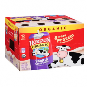 Horizon Organic Vanilla Lowfat Milk, 8 fl oz, 12 Ct