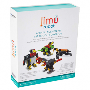 UBTECH JIMU Robot Animal Add On Kit - Digital Servo & Character Parts for All JIMU Robot Kits Buil