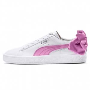 PUMA 新款蝴蝶结板鞋