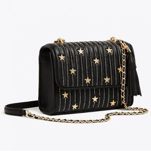 Fleming Star-stud Small Convertible Shoulder Bag