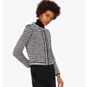 Embellished Tweed Cardigan