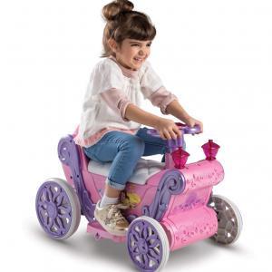 Disney Princess Girls' 6V Ride-On Toy Pink by Huffy