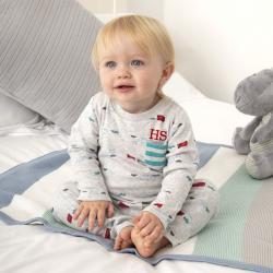 My 1st Years Personalized Baby Dinosaur Pyjamas