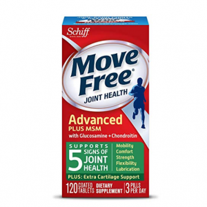 $14.96 For Move Free Advanced Plus MSM, 120 tablets @ Amazon