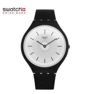 SWATCH 스와치 SVUB100 Skinnoir 공용 젤리시계