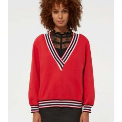 Kristine sweatshirt with stripe