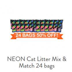 NEON Cat Litter Mix & Match 24 bags