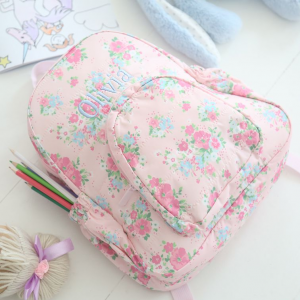 My 1st Years Personalized Ditsy Print Large Backpack