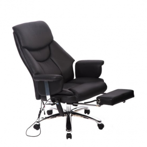 EXECUTIVE VIBRATING MASSAGE/OFFICE CHAIR WITH FOOTREST