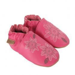 Fiona 꽃 아기 신발, 소프트 발바닥