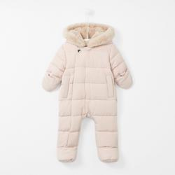 HOODED WATER-REPELLENT SNOWSUIT