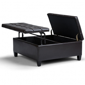 Harrison Coffee Table Storage Ottoman
