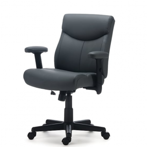 Staples Traymore Luxura Managers Chair, Gray (53246)