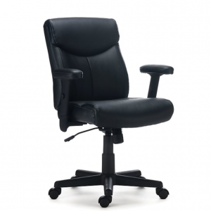 Staples Traymore Luxura Managers Chair, Black (53245)