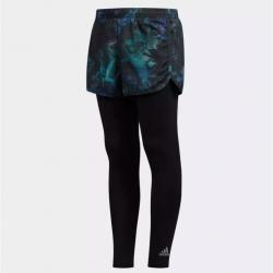GIRLS TRAINING 2-IN-1 SHORTS AND 7/8 TIGHTS