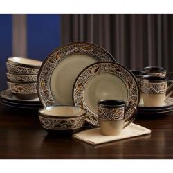 Gourmet Basics - Alexandria 16 Piece Dinnerware Set
