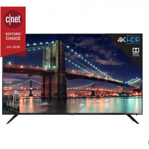 "TCL 65R617 65"" 4K HDR Roku Smart TV @ Amazon"