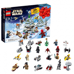 LEGO 6213564 Star Wars Advent Christmas Countdown Calendar 75213 New 2018 Edition, Minifigures, Sm