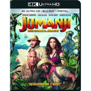 $7.96 for Jumanji: Welcome to the Jungle (4K Ultra HD + Blu-ray + Digital) @ Walmart