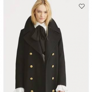 POLO RALPH LAUREN Double-Breasted Wool Coat