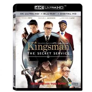 Kingsman: The Secret Service [Includes 4K Ultra HD] (Blu-ray] [Digital HD Copy]