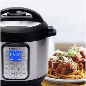 $90 Instant Pot Smart WiFi 6 Quart Electric Pressure Cooker, Silver @ Amazon.com
