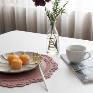 테이블 매트로 예쁘게 먹으면 더 맛있잖아요❤ 선물로도 좋아요❤