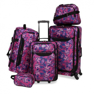 Tag Springfield III Printed 5-Pc. Luggage Set