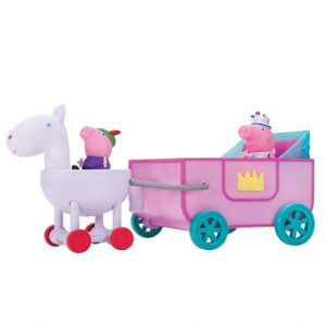 Peppa Pig Peppa 공주 캐리지 기능 차량