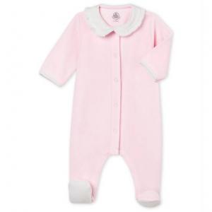 BABY GIRL'S PLAIN COTTON VELOUR 잠옷