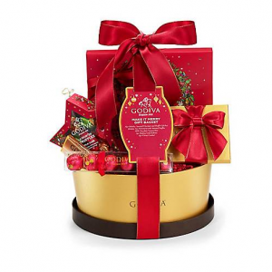 Make It Merry Chocolate Gift Basket