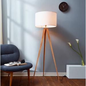 Roman Tripod Floor Lamp, White