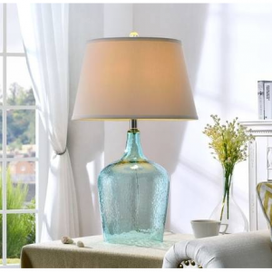 "27"" Ocean Breeze Glass Table Lamp"