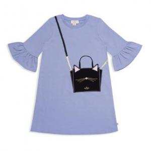 kate spade new york Girls' Cat-Handbag Dress - Big Kid