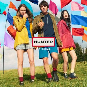 折扣升级【Hunter Boots】精选女士雨靴,雨衣等热卖