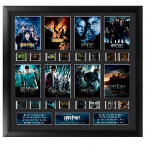 $30 OFF Harry Potter Mixed Montage Film Cels - Complete Series @WBShop