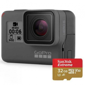 GoPro Hero6 Black + 32GB MicroSD Card Bundle @Cotswold Outdoor
