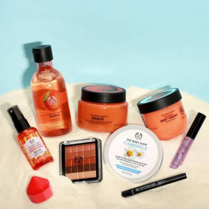 The Body Shop官網 護膚品及身體護理產品大促