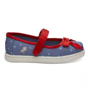 Disney X TOMS Snow White Tiny TOMS Mary Jane Flats