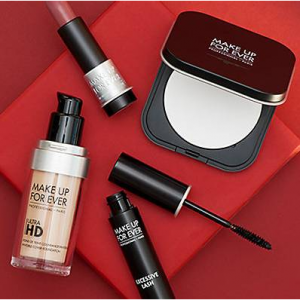 30% Off $75 Credit + Free Gift on MAKE UP FOR EVER @ Gilt City