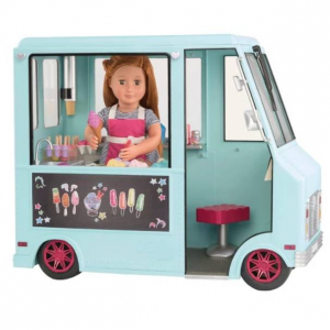 Our Generation® Sweet Stop Ice Cream Truck™ - Light Blue