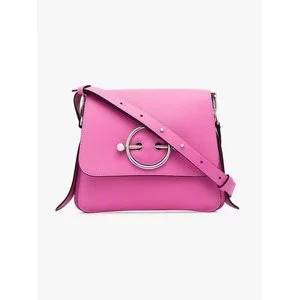 JW Anderson Pink Disc Leather Cross-Body Bag