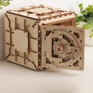 UGEARS Mechanical 3D Safe Puzzle