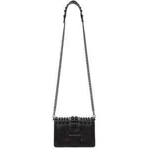 Prada Black Mini Cahier Bag