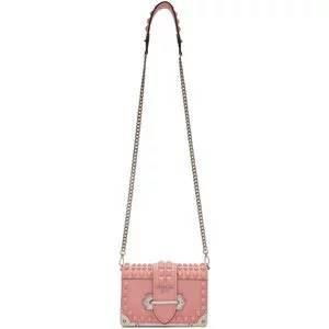 Prada Pink Mini Cahier Bag