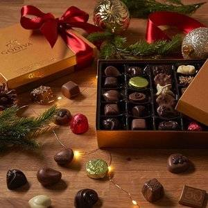 Buy 1 get 1 50% off select products @ Godiva