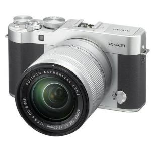 Fujifilm X-A3 Mirrorless Camera with XC 16-50mm OIS II Lens, Silver @ Adorama Camera