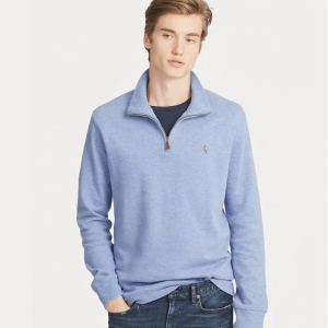 Estate-Rib Cotton Pullover