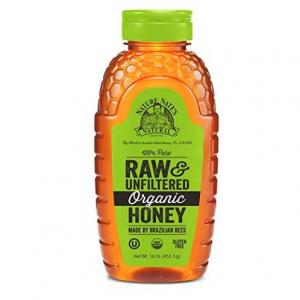 Nature Nate's 100% Pure Raw & Unfiltered Organic Honey 453.5g