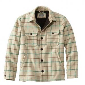 Signature Lined Wool-Blend Shirt Jacket, Slim Fit Plaid